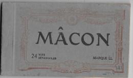 MACON - Carnet De 23 Vues Détachables - Macon
