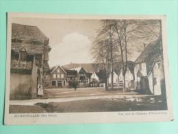 SCHERWILLER - Vue Sur Le Chateau D'Ortenbourg - Autres Communes