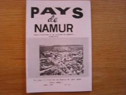 PAYS DE NAMUR Revue N° 177 Régionalisme Cerfontaine Marche St Lambert 14 18 Silenrieux Conscrit Senzeilles Soumoy Gares - Belgium