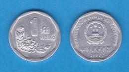 CHINA  1 JIAO  1.997  ALUMINIO  KM#328  MBC/VF   DL-10.983 - China