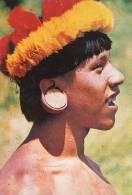 Lote PEP792, Ecuador, Postal, Postcard, Indigena Huaorani, Inidgenous Themes - Ecuador