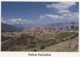 Lote PEP801, Peru, Postal, Postcard, Indigenous Issues, Colca, Puka Pukara - Perú