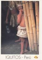 Lote PEP802, Peru, Postal, Postcard, Indigenous Issues, Iquitos, Nativo Bora - Perú