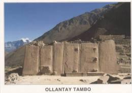 Lote PEP807, Peru, Postal, Postcard, Indigenous Issues, Ollantaytambo, Templo Mayor - Perú