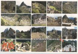 Lote PEP808, Peru, Postal, Postcard, indigenous issues, Im�genes de Machu Picchu