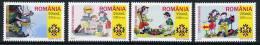 ROMANIA 2005 Scouting MNH / **.  Michel 5943-46 - 1948-.... Republics