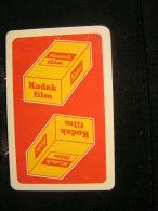 Playing Cards / Carte A Jouer / 2 Dos De Cartes,Inscription  Publicitaire / Recto/verso, Kodak Film - Kodacolor Film .- - Cartes à Jouer