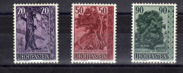 """Liechtenstein (1959)  - """"Flore. Arbres & Arbustes """" Neufs* - Liechtenstein"""