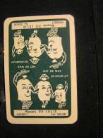 Playing Cards / Carte A Jouer / 1 Dos De Cartes,Inscription  Publicitaire /  Wasserij De Lelie Hasselt - Cartes à Jouer