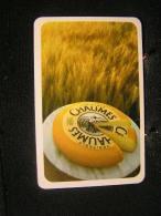 Playing Cards / Carte A Jouer / 1 Dos De Cartes,Inscription  Publicitaire / Fromage Chaumes ( Belgique) - Cartes à Jouer