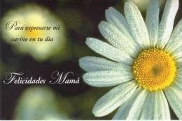 Lote PEP817, Cuba, Postal, Postcard, Entero Postal, 2002, Felicidades Mama, 32, Postal Stationary, Flor, Flower - Cartes Postales