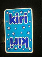 Playing Cards / Carte A Jouer / 1 Dos De Cartes,Inscription  Publicitaire / Produits Laitiers,Kiri Fromage - Cartes à Jouer