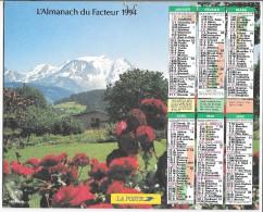 CALENDRIER - ALMANACH DES POSTES ET DES TELEGRAPHES - ANNEE 1981 - REGION PARISIENNE - Big : 1981-90