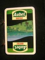 Playing Cards/Carte A Jouer/4 Dos De Cartes,Inscription  Publicitaire/Detry,Aubel / Porc-Viandes-Charcuteries-Salaisons - Cartes à Jouer