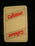 Playing Cards / Carte A Jouer / 1 Dos De Cartes,Inscription  Publicitaire / Chocolat, Callebaut - Cartes à Jouer
