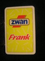 Playing Cards / Carte A Jouer / 2 Dos De Cartes,Inscription  Publicitaire / Zwan (Frank) Bierworst Cigare - Cartes à Jouer