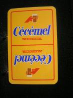 Playing Cards / Carte A Jouer / 1 Dos De Cartes,Inscription  Publicitaire / Cécémel Nutricia - Cartes à Jouer