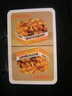 Playing Cards / Carte A Jouer / 1 Dos De Cartes,Inscription  Publicitaire /  Gaufres Liégeoises Deguy !! - Cartes à Jouer