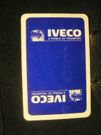 Playing Cards / Carte A Jouer / 1 Dos De Cartes,Inscription  Publicitaire /  Automobile - Camion  Iveco - Cartes à Jouer