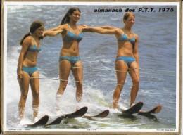 CALENDRIER - ALMANACH DES POSTES ET DES TELEGRAPHES - ANNEE 1975  - SEINE ET MARNE - Calendars