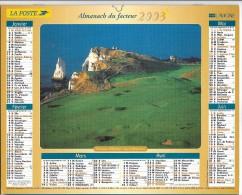 CALENDRIER - ALMANACH DES POSTES ET DES TELEGRAPHES - ANNEE 2003 - SEINE ET MARNE - Grand Format : 2001-...