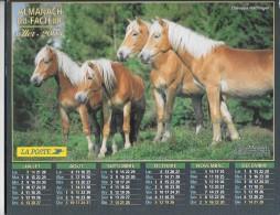 CALENDRIER - ALMANACH DES POSTES ET DES TELEGRAPHES - ANNEE 2003 - SEINE ET MARNE - Calendriers