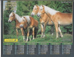 CALENDRIER - ALMANACH DES POSTES ET DES TELEGRAPHES - ANNEE 2003 - SEINE ET MARNE - Calendars