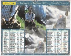 CALENDRIER - ALMANACH DES POSTES ET DES TELEGRAPHES - ANNEE 1997 - Chasseurs, Pêcheurs - AISNE - Big : 1991-00