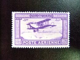 EGIPTO - EGYPTE - EGYPT - UAR - 1926 - 1929 - LIGNE DU CAIRE A BAGDA  Yvert & Tellier Nº PA 1 * MH - Poste Aérienne