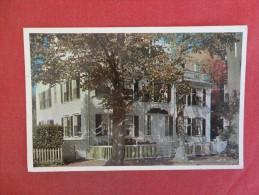 Massachusetts> Nantucket  Macy Mansion -- Ref 1435 - Nantucket