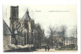 Cp, 58, Nevers, Cathédrale Saint-Cyr - Nevers