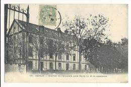 Cp, 60, Senlis, Quartier De Calvalerie (Côté Nord), 1er Et 2d Escadrons, Voyagée - Senlis