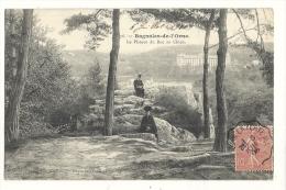 Cp, 61, Bagnoles De L'Orne, Le Plateau Du Roc Au Chien, Voyagée 1906 - Bagnoles De L'Orne