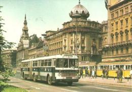 BUS * AUTOBUS * IKARUS * BKV * TRAM TRAMWAY * RAIL RAILWAY RAILROAD * GRAND BOULEVARD BUDAPEST * Reg Volt 0005 * Hungary - Bus & Autocars