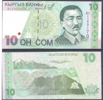 1997. Kyrgyzstan, 10S, P-14, UNC - Kirghizistan