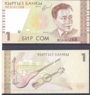 Kyrgyzstan. 1S/1999, P-15,  UNC - Kirgizïe