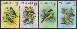 VANUATU, 1981 BIRDS 4 MNH - Vanuatu (1980-...)