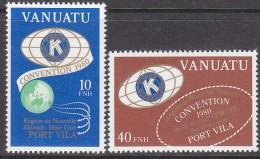 VANUATU, 1980 KIWIANIS(FR) 2 MNH - Vanuatu (1980-...)