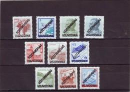 Ex Yugoslavia Overprint Vojvodina Complete Set MNH**...free Shipping!!!712 - 1945-1992 República Federal Socialista De Yugoslavia