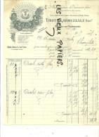 02 - Aisne - ORIGNY-EN-THIERACHE - Facture TIROT & LARMUZEAUX - Vannerie – 1907 - REF 2A - 1900 – 1949