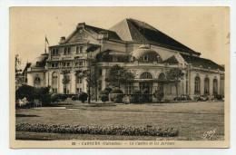 CP , 14 , CABOURG , Le Casino Et Les Jardins - Cabourg