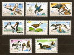 Rwanda 1975 OBC nr. 649-656 *** MNH cote 10 euro Faune oiseaux birds vogels