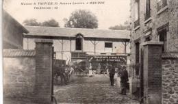 "Cpa  92  Meudon , Maison "" Tripier "" 10,avenue Louvois A Meudon , Transports De Mobilier..superbe - Meudon"