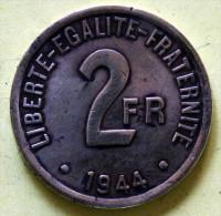 2 F  1944 Laiton - France