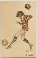 Le Foot Ball Feminin Femme Par Xavier Sager Edition Tuck - Football