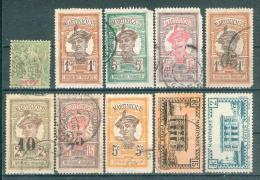 Collection MARTINIQUE ; Colonie ; Y&T N° ; Lot  008 ; Oblitéré , 2° Choix - Martinique (1886-1947)