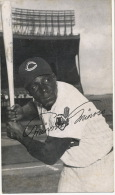 Orestes Minoso Nickname Minnie Black Base Ball Player From Cuba - Baseball