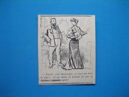 Publicité 1906  CACHOU LAJAUNIE - Publicités