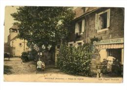 NAUVIALE (12) Place De L´église Boulangerie éditeur Pegues Animation - France