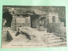 BOISSY LA RIVIERE - Les Grottes De St Francois D'ASSISE - Francia